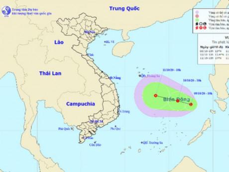 Lại xuất hiện thêm vùng áp thấp mới hướng vào miền Trung, nguy cơ lũ chồng lũ