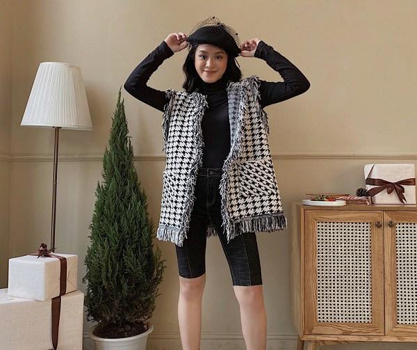 Đây chính là kiểu áo dành cho ngày giao mùa, nàng mặc vào vừa giấu dáng vừa sang miễn chê - 13