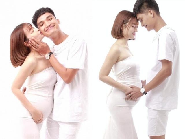 Hẹn hò 5 năm nhưng chưa cưới, Mạc Văn Khoa khoe bạn gái mang bầu to như sắp đẻ