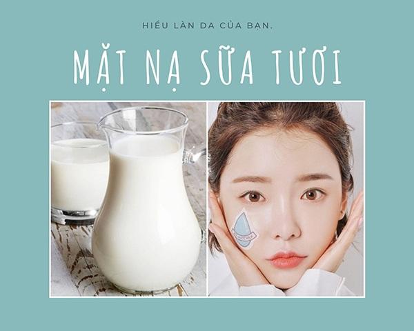 Mách bạn mẹo dưỡng trắng da rẻ bèo với 4 cách dưỡng da bằng sữa tươi