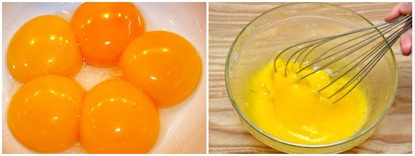 Cách làm kem trứng thơm ngon, đánh trứng nhanh rất đơn giản - 3