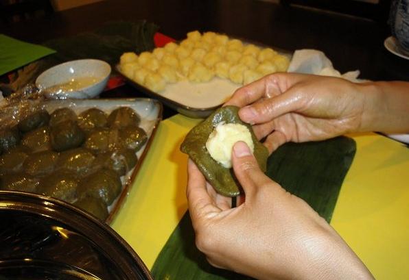 Cách làm bánh gai nhân đậu xanh mềm ngon tại nhà cực đơn giản - 9
