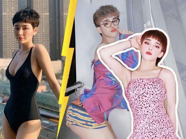 Bản sao Hiền Hồ đi thi Hoa hậu Chuyển giới, cặp mông quả đào xuất sắc bỏ xa bản chính