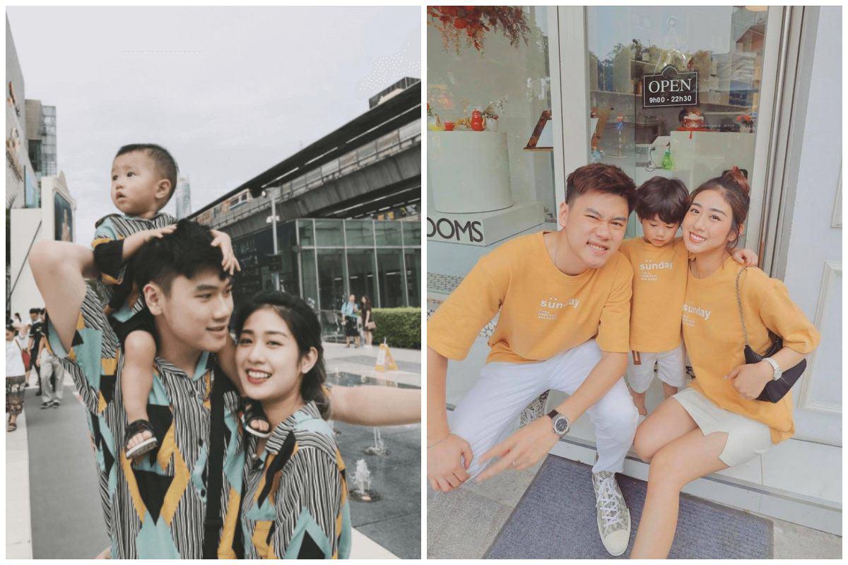 Nhà có hai nàng tiên, Lưu Hương Giang mất cả tiếng hội ý để mặc đồ đồng điệu cùng con - 10