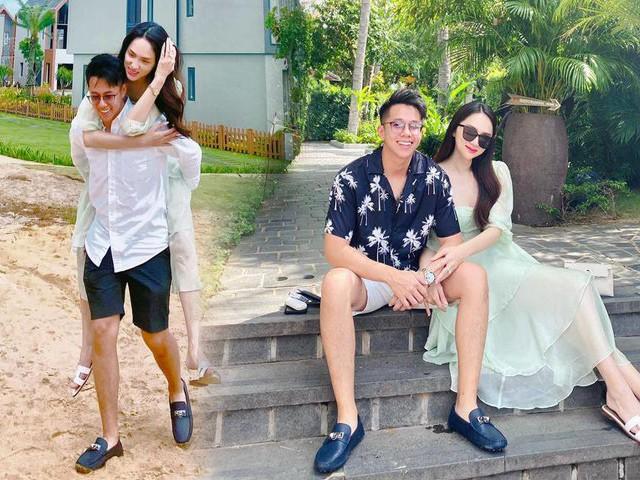 Hương Giang được bạn trai cõng trên lưng, bao con tim ghen tị với đoạn clip 20/10 ngọt lịm