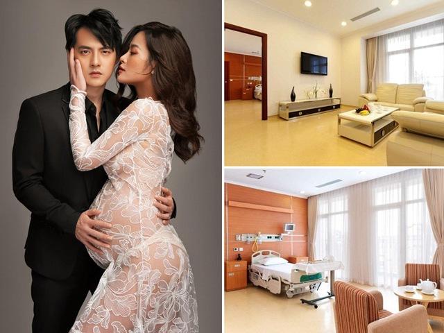 Đi đẻ đẳng cấp nhà tài phiệt như Đông Nhi, nằm phòng Tổng thống, giá nghìn đô một đêm