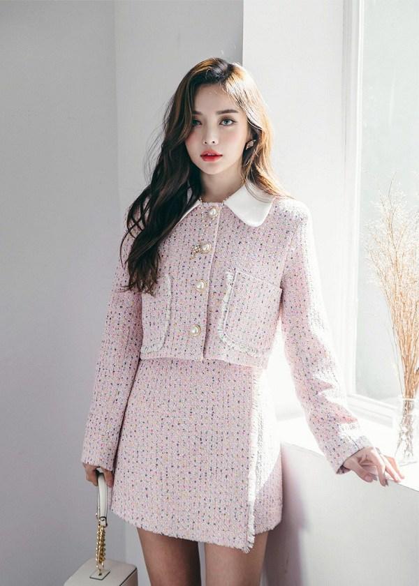 """Ngày lạnh không biết mặc gì, học ngay sao Việt cách """"lên đồ"""" nguyên cây vải tweed là chuẩn đẹp - 11"""