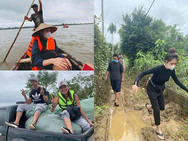 Ngoài Thuỷ Tiên, 5 sao Việt nữa cũng đang bỏ con nheo nhóc ở nhà, ra miền Trung cứu hộ
