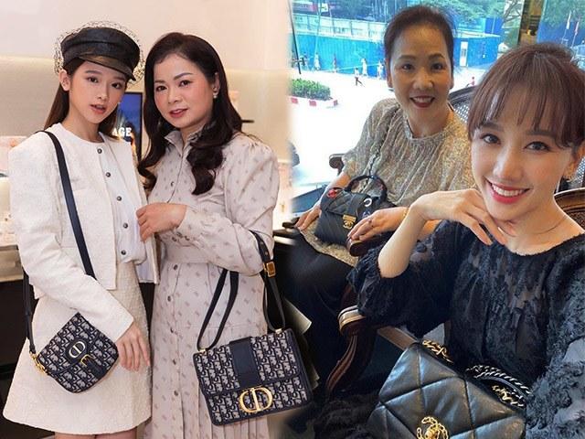 Ngắm nhìn gout thời trang hàng hiệu của các mẹ: sành điệu không kém cạnh con gái mỹ nhân Vbiz