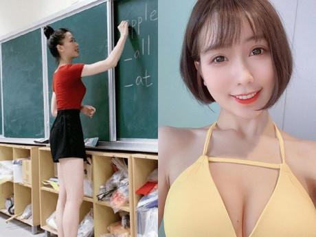 Cô giáo tiểu học chuyên mặc quần siêu ngắn đi dạy, nhìn ảnh đời thường các bố toát mồ hôi