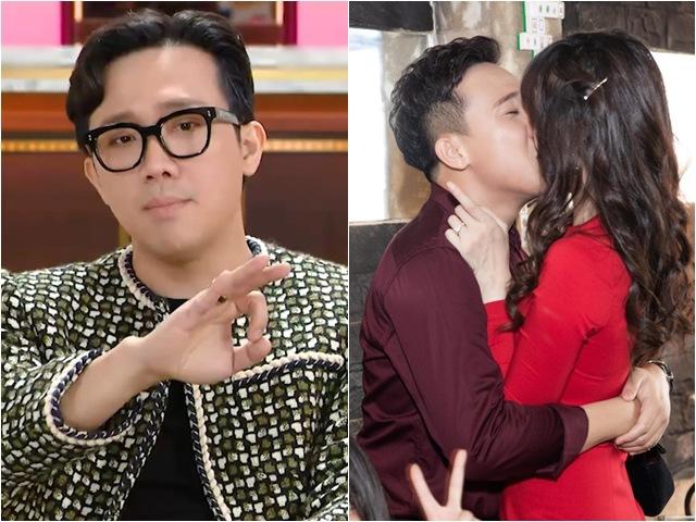 MC Trấn Thành nhắc lại bức ảnh nụ hôn sóng gió sau 3 ngày cưa đổ nữ ca sĩ chảnh