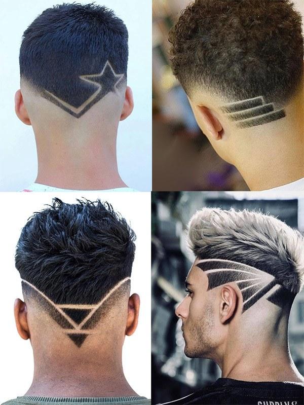 Những kiểu tatoo tóc nam đẹp đơn giản chất nhất hiện nay