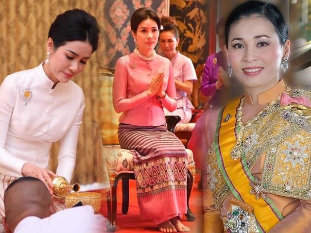 Hoàng quý phi Thái Lan phục chức, so kè nhan sắc một chín một mười với Hoàng Hậu