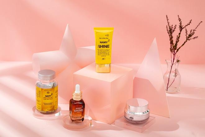 Thương hiệu Namy Shine lần đầu tiên ra mắt bộ sản phẩm chăm sóc da 4 trong 1