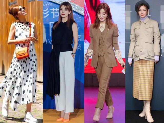 Diện váy ngắn bị lật tẩy đôi chân không như mơ, U50 Triệu Vy mặc gì để sang ngút ngàn?