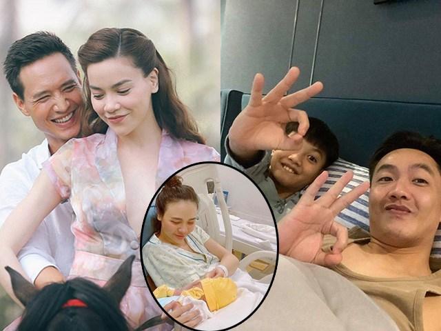 Đêm Hà Hồ sinh con với Kim Lý, Cường Đô-la giúp trông Subeo, lúc Đàm Thu Trang đẻ lại khác