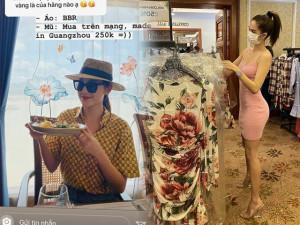 Đâu chỉ ra store càn quét, mỹ nhân Việt cũng chăm mua đồ online, săn quần áo đại hạ giá