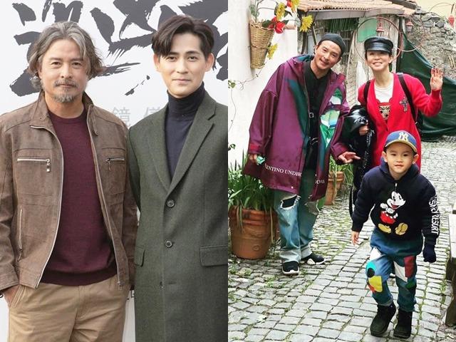 Mới 49 tuổi, Dương Quá Lý Minh Thuận râu tóc bạc phơ như ông cụ, làm bố của đồng nghiệp