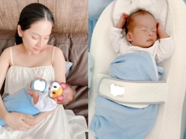 Không chịu nổi việc giấu mặt, vợ chồng Dương Khắc Linh công khai diện mạo cặp song sinh