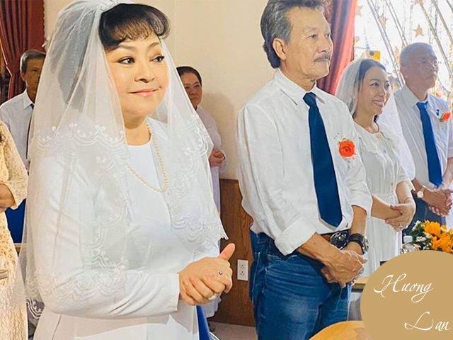 Nghệ sĩ Hương Lan: Tan vỡ hôn nhân 7 năm và đám cưới ở tuổi 63 bao người ngưỡng mộ