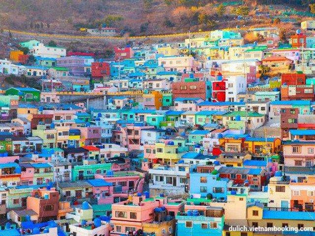 Khám phá ngôi làng Lego nổi tiếng ở Hàn Quốc