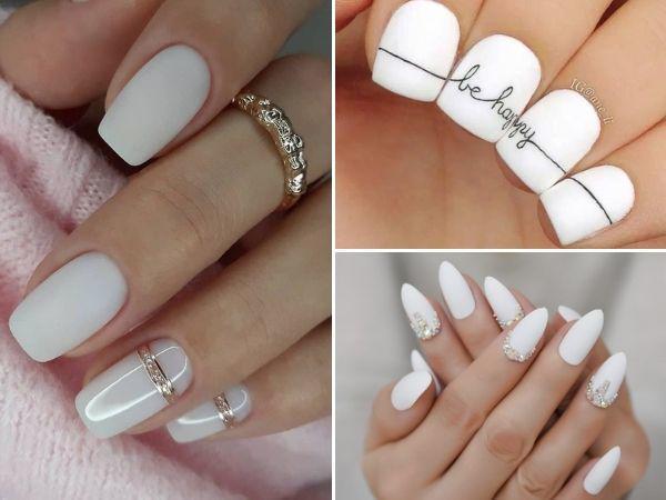 Những mẫu nail cô dâu sang trọng, không lo lỗi mốt cho nàng thêm lung linh trong ngày cưới
