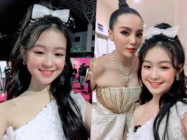 Đêm chung kết HHVN, bé gái Cần Thơ chuyên đọ sắc Hoa hậu lại làm lu mờ dàn mỹ nhân