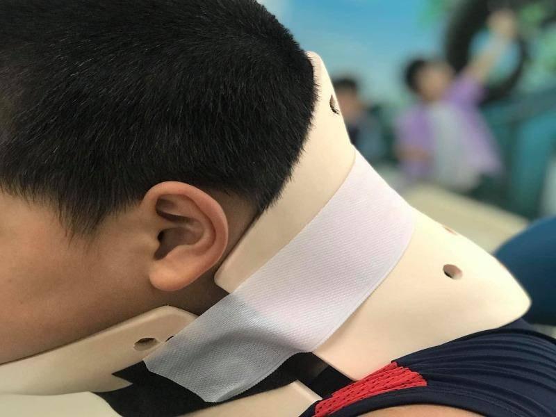TP HCM: Học nhào lộn trên TikTok, bé trai chấn thương cột sống cổ