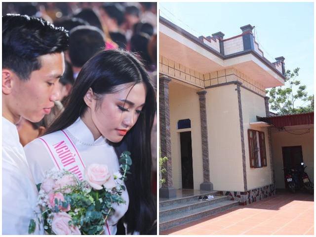 Nhà ở quê của cầu thủ lương 500 triệu/tháng, nghi vấn yêu người đẹp Hoa hậu Việt Nam