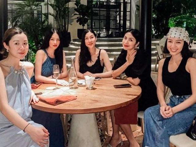 Hiếm hoi tụ họp, hội bạn thân của Hà Tăng hút sóng mạng bởi diện mạo trẻ đẹp bất chấp