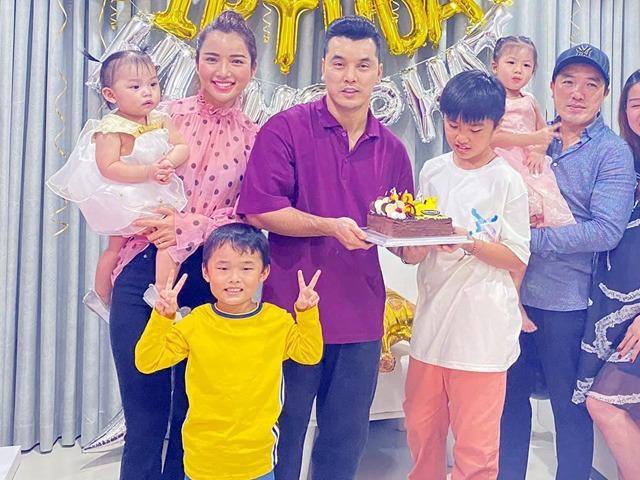 Sao Việt 24h: Vợ Ưng Hoàng Phúc tung ảnh sinh nhật con riêng, bé đã cao gần bằng cha dượng
