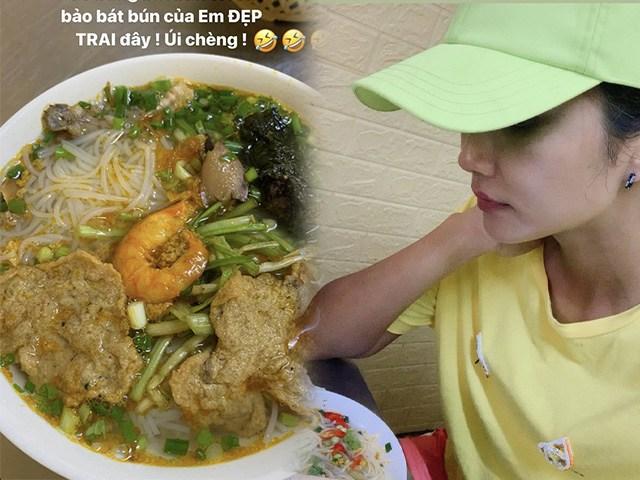 Đi ăn bún cá, HHen Niê về với tâm trạng hoang mang vì cách gọi của chủ quán