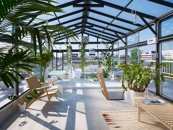 Những mẫu thiết kế sân thượng đẹp cho nhà ống hoặc nhà phố hiện đại - 14