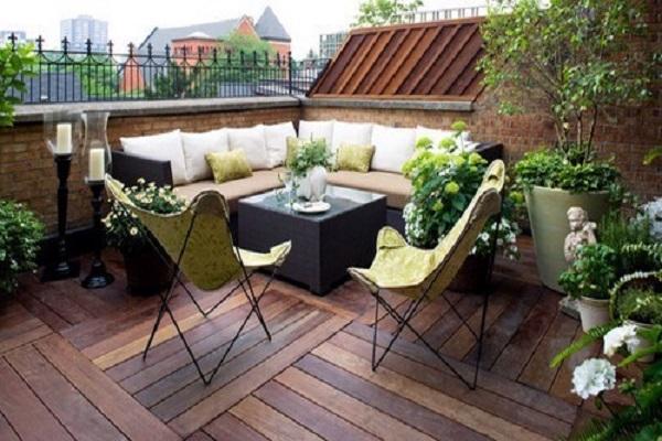 Những mẫu thiết kế sân thượng đẹp cho nhà ống hoặc nhà phố hiện đại - 13