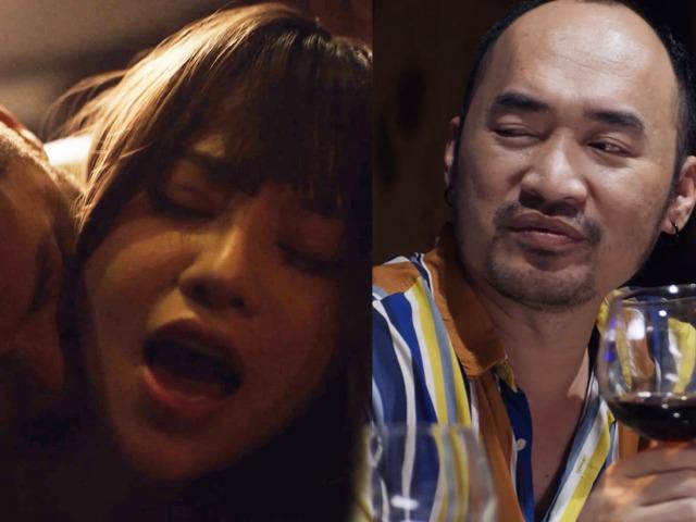 Chồng Thu Trang cùng Quang Minh đi nuôi sugar baby trong phim 18+ ngập cảnh nóng