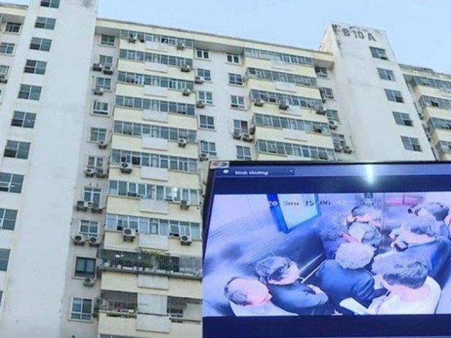 Thang máy rơi ở Nam Trung Yên, Hà Nội: 1 phụ nữ gãy chân, cả chục người hoảng loạn