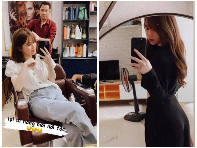 Quang Hải vừa xuất hiện với râu tóc bờm xờm, bạn gái cũ liền đáp trả bằng diện mạo mới