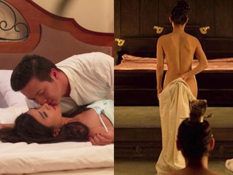 Khoả thân, làm tình táo bạo trên phim, đến cả Hoa hậu cũng bị bạn trai bỏ
