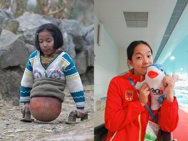 Hình ảnh vịt hóa thiên nga của cô bé bóng rổ bị cụt nửa người từng gây sốt MXH
