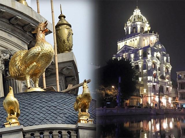 4 đại gia Việt chơi ngông, vung trăm tỷ xây biệt thự dát vàng lóa mắt người đi đường