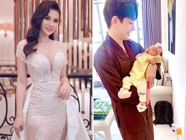 Sinh con với trai trẻ, Thu Thủy 20 ngày đã đi làm, vừa lên đồ liền quay về hút sữa
