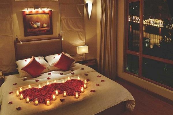 5 Cách trang trí phòng cưới, phòng tân hôn đơn giản mà lãng mạn - 8