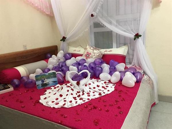 5 Cách trang trí phòng cưới, phòng tân hôn đơn giản mà lãng mạn - 15