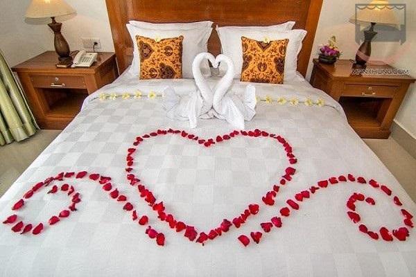 5 Cách trang trí phòng cưới, phòng tân hôn đơn giản mà lãng mạn - 1