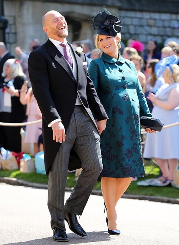 Cháu gái Nữ hoàng Anh mang thai sau 2 lần sảy, đặt tên cực độc cho con
