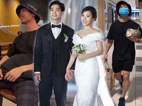 """Tái xuất sau đám cưới, Công Phượng lên đồ chuẩn style """"người có vợ"""": điểm 10 cho sự chỉn chu"""