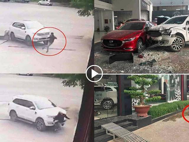 Vụ nữ tài xế lao xe vào showroom ô tô: Vợ nạn nhân chưa biết chồng chết thế nào