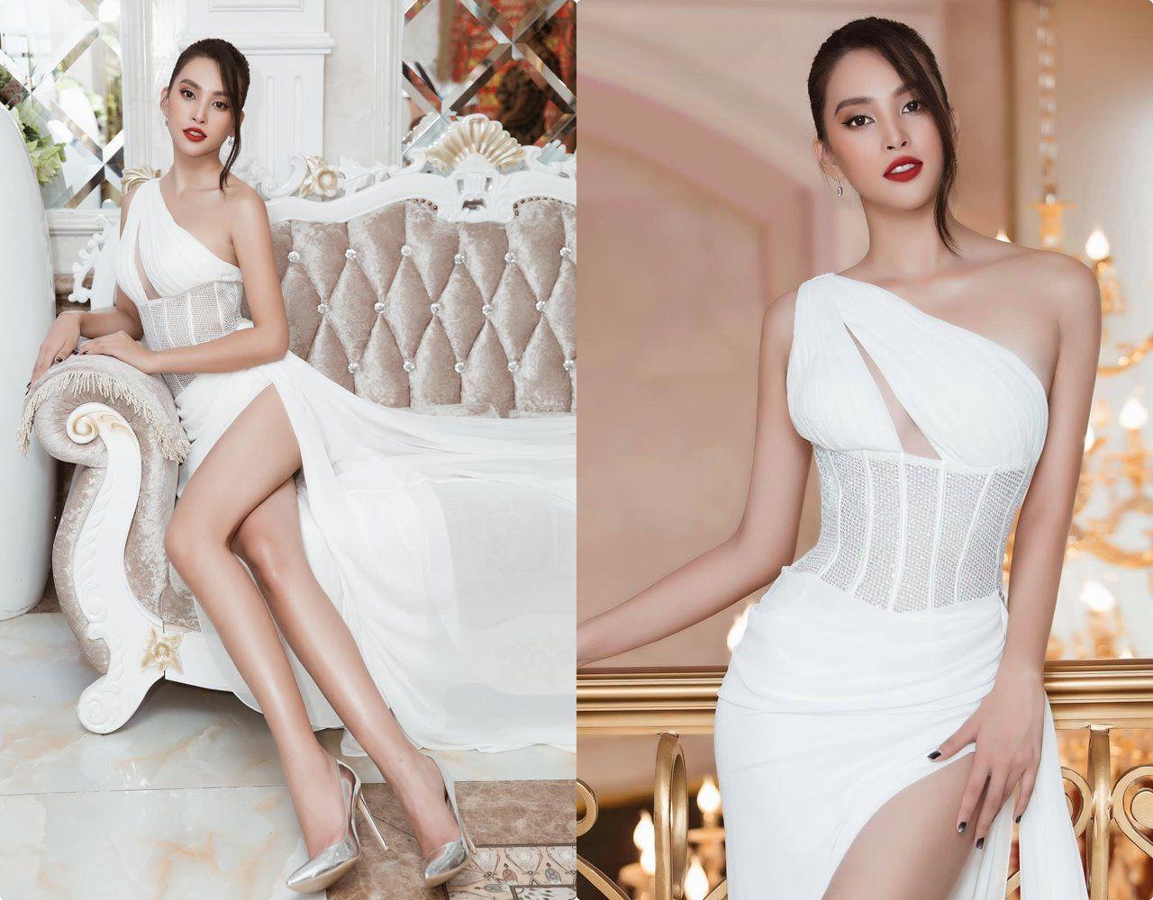 Hết nhiệm kỳ, 2 Hoa hậu nổi tiếng ngoan hiền nhất Vbiz đều amp;#34;xả vaiamp;#34;, mê váy áo hở bạo - 10