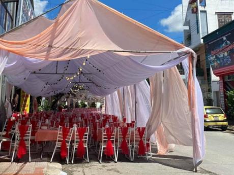 Tình tiết mới nhất vụ cô gái bỏ bom 150 mâm cỗ cưới ở Điện Biên