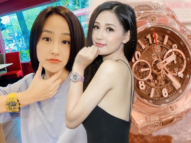 Có cả gia tài đồ xa xỉ, Mai Phương Thuý bỏ quên đồng hồ 1,5 tỷ chẳng hay biết